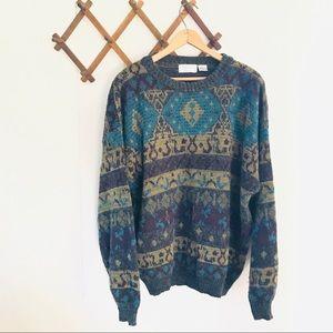 Vintage Funky Knit Sweater